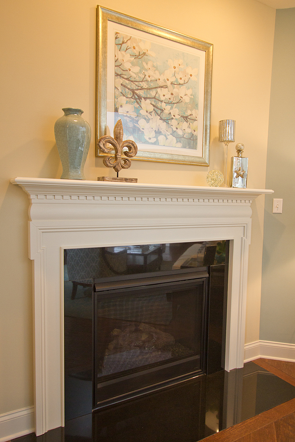 Lititz Reserve Addison - Fireplace