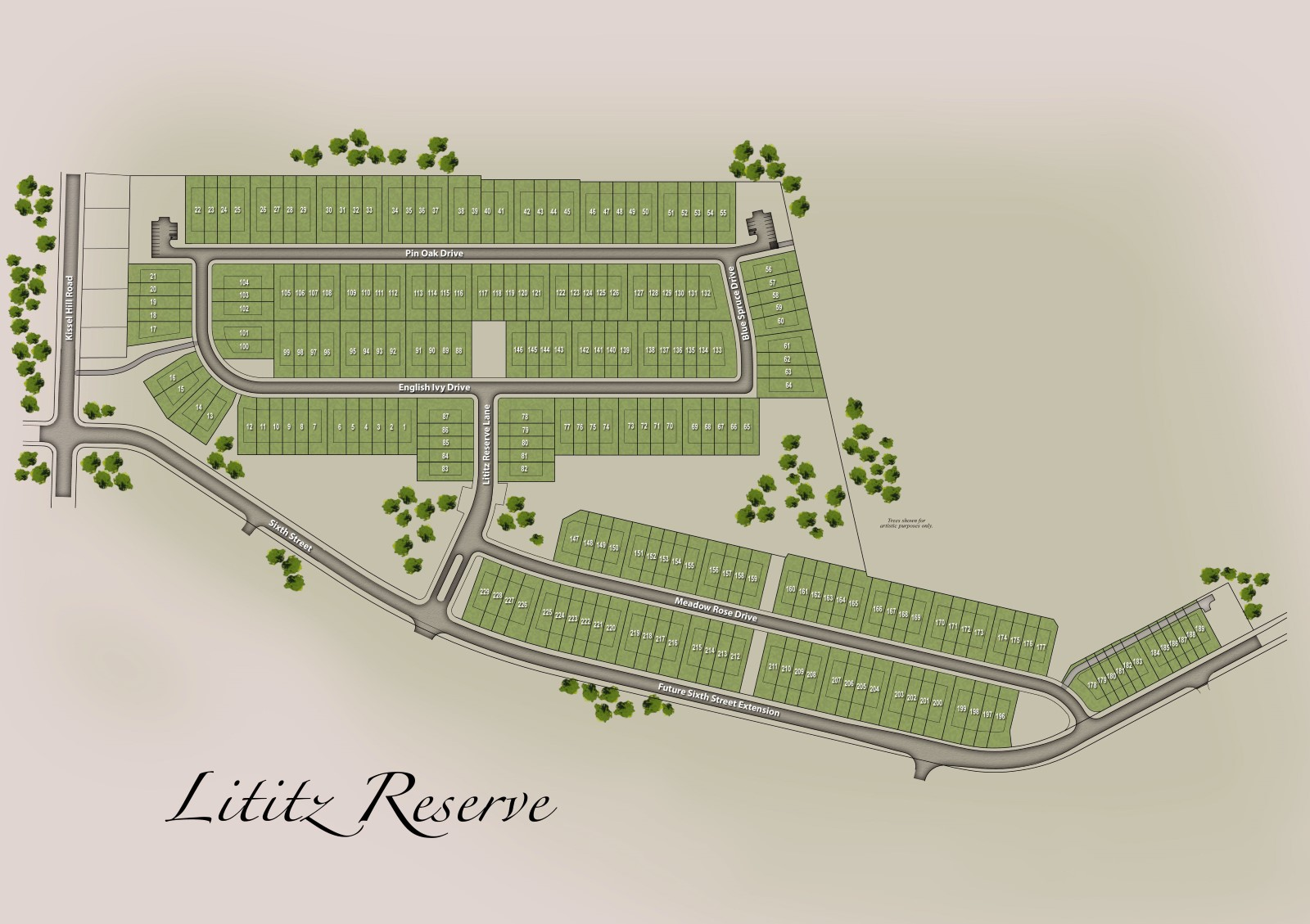 Lititz Reserve Plot Plan